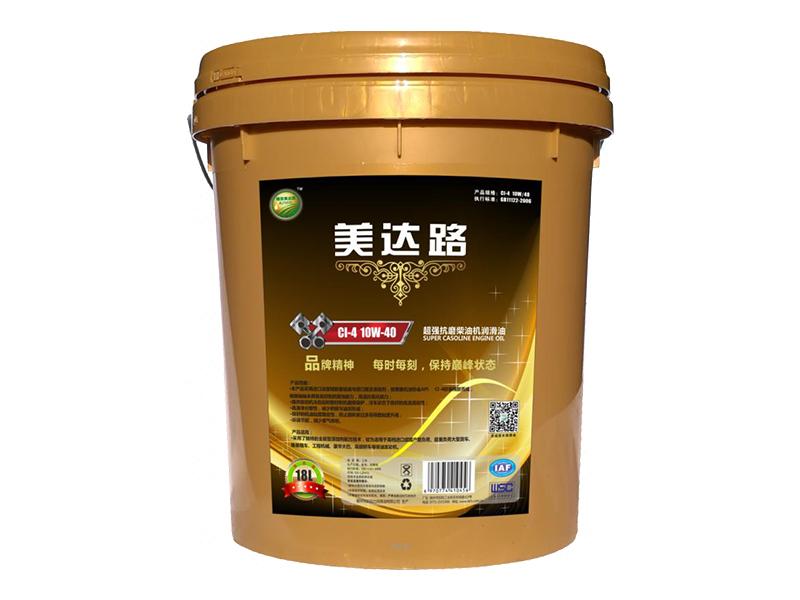瑞聚超强抗磨柴油机润滑油C1-4 10W-40(18L)