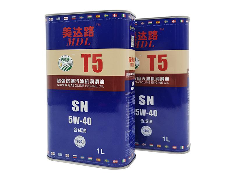 超强抗磨汽油机千亿国际886T5 SN 5W-40(1L)