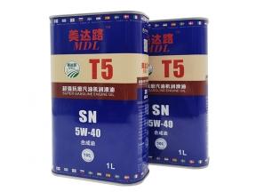 超强抗磨汽油机润滑油T5 SN 5W-40(1L)